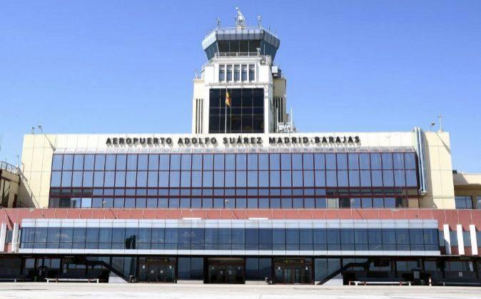 Terminal 2 del aeropuerto de Madrid.