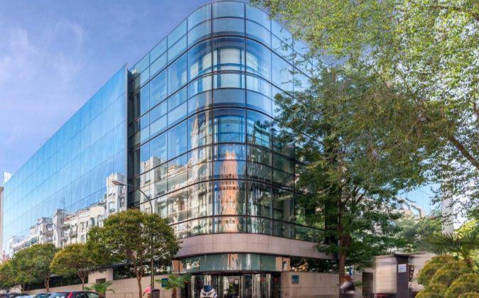 Imagen de uno de los edificios adquiridos por Axiare