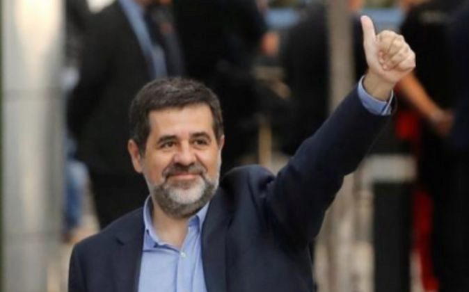 El expresidente de la Asamblea Nacional Catalana, Jordi Sánchez.