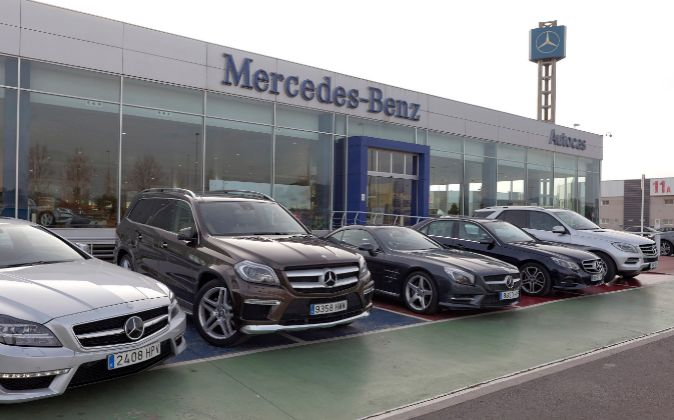 Instalación de Autocas, concesionario de Mercedes en Castellón.