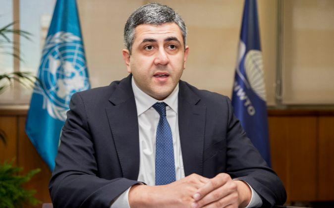 El secretario General de la Organización Mundial del Turismo, Zurab...