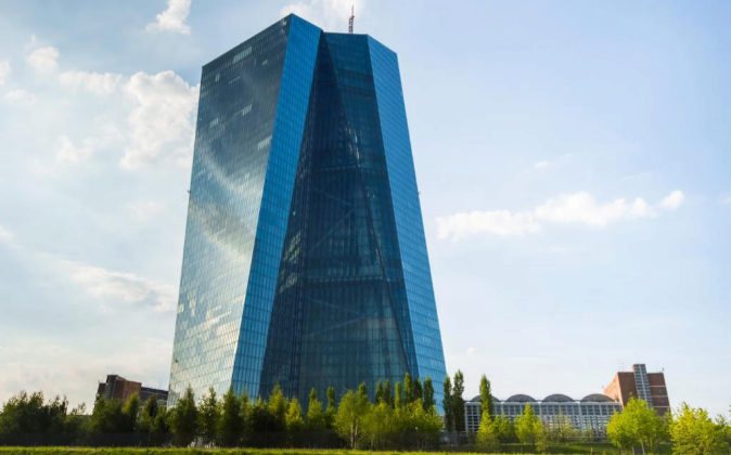 Sede del BCE (Banco Central Europeo) en Francfort.