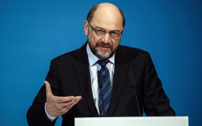 El líder del Partido Socialdemócrata (SPD), Martin Schulz,.