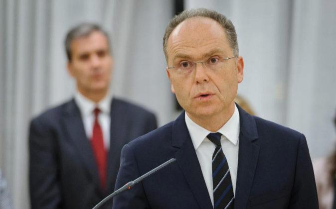 Juan Bravo, presidente de Adif.