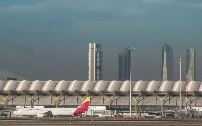 Foto del aeropuerto Adolfo Suárez Madrid Barajas.