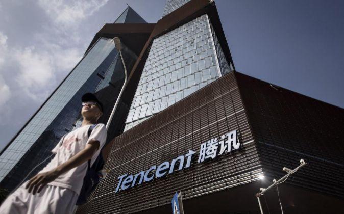 Sede de Tencent en Shenzhen (China).