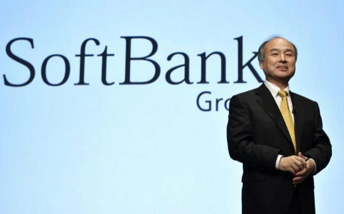 El presidente del grupo tecnológico japonés SoftBank, Masayoshi Son.