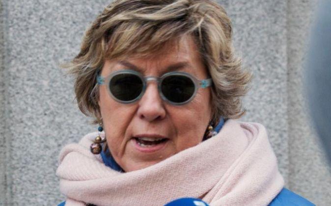 La senadora del PP y exalcaldesa de Cartagena Pilar Barreiro, a su...
