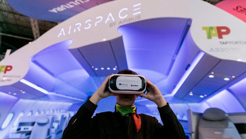 Una de las propuestas de Realidad Virtual presentes en FITUR 2017, en...
