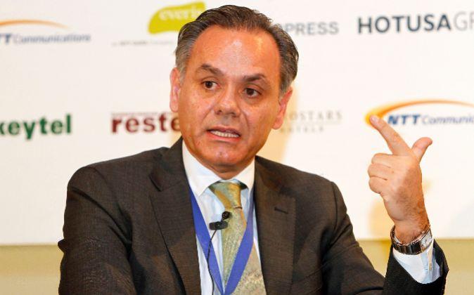 José María González, presidente de Exceltur.
