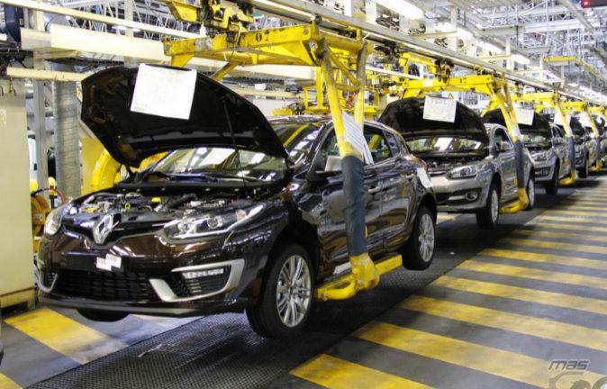 Planta de producción de Renault en Palencia.