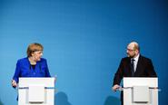 La canciller de Alemania y líder de la Unión Cristianodemócrata...