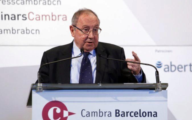El presidente de Freixenet, Josep Lluis Bonet.