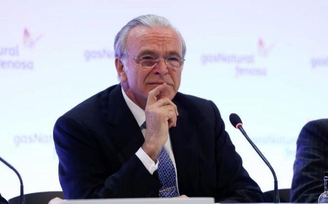 Isidre Fainé es el presidente de Gas Natural Fenosa