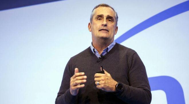 Brian Krzanich, consejero delegado de Intel, insiste en restar...