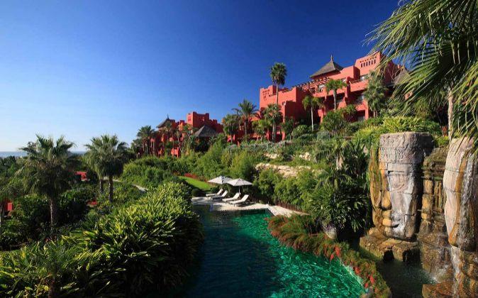 Asia Gardens, el hotel de lujo que presume de tener a estrellas de...