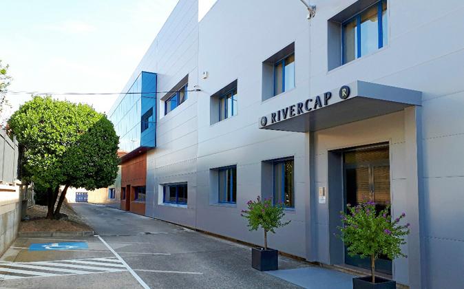 Rivercap tiene plantas en Lapuebla de Labarca (en la foto), Hendaya, y...