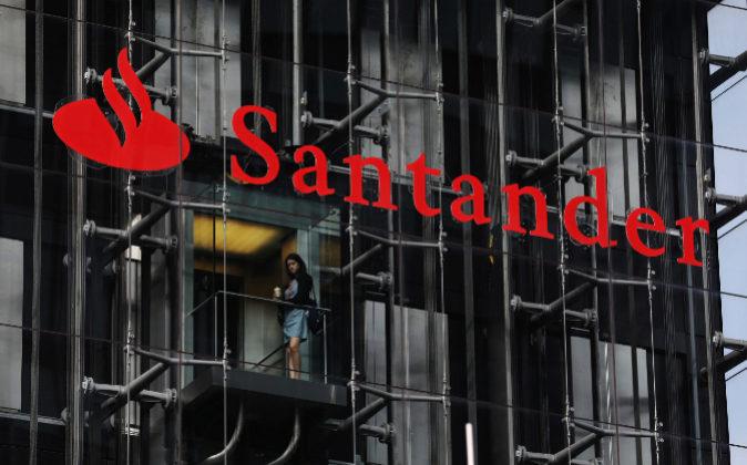 Oficinas de Santander en Londres.