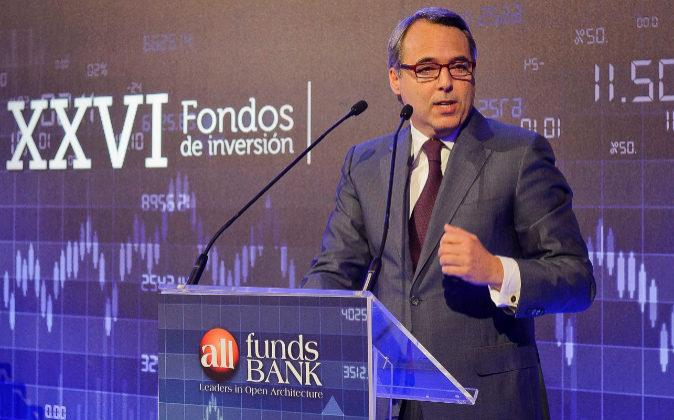 Juan Alcaraz, consejero delegado de Allfunds Bank.