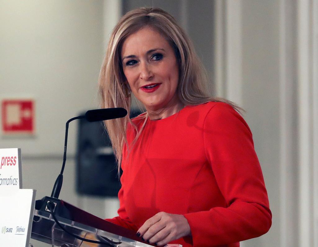 La presidenta de la Comunidad de Madrid, Cristina Cifuentes, anunció...