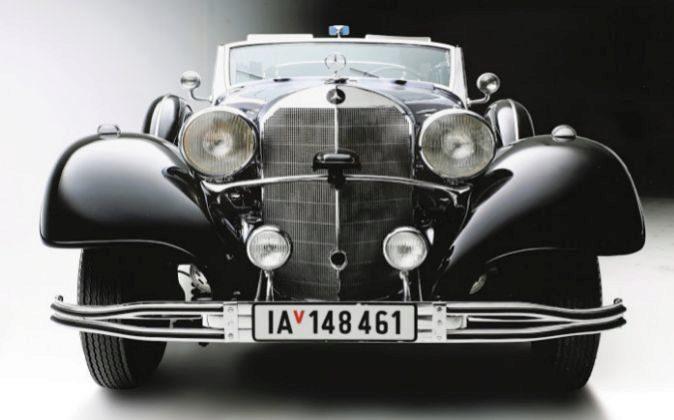 Imagen del Mercedes utilizado por Hitler