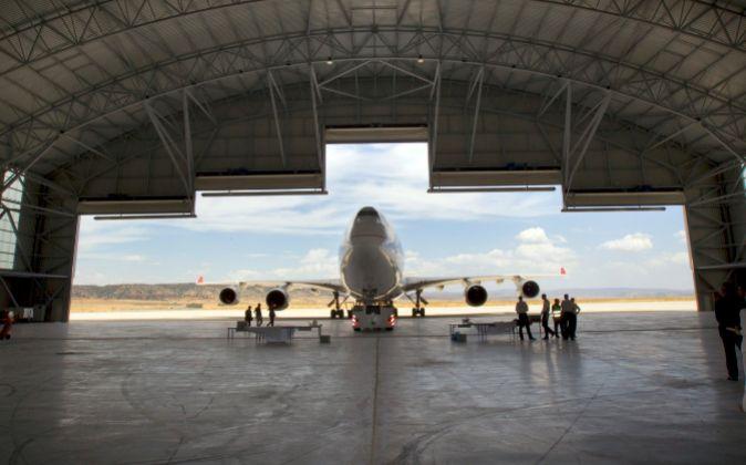 Aeropuerto industrial de Teruel.
