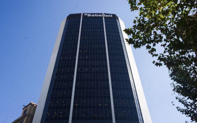 Edificio corporativo del Banco Sabadell.
