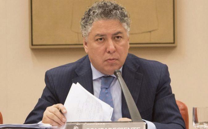 Tomás Burgos, en una comparecencia en el Congreso de los Diputados.