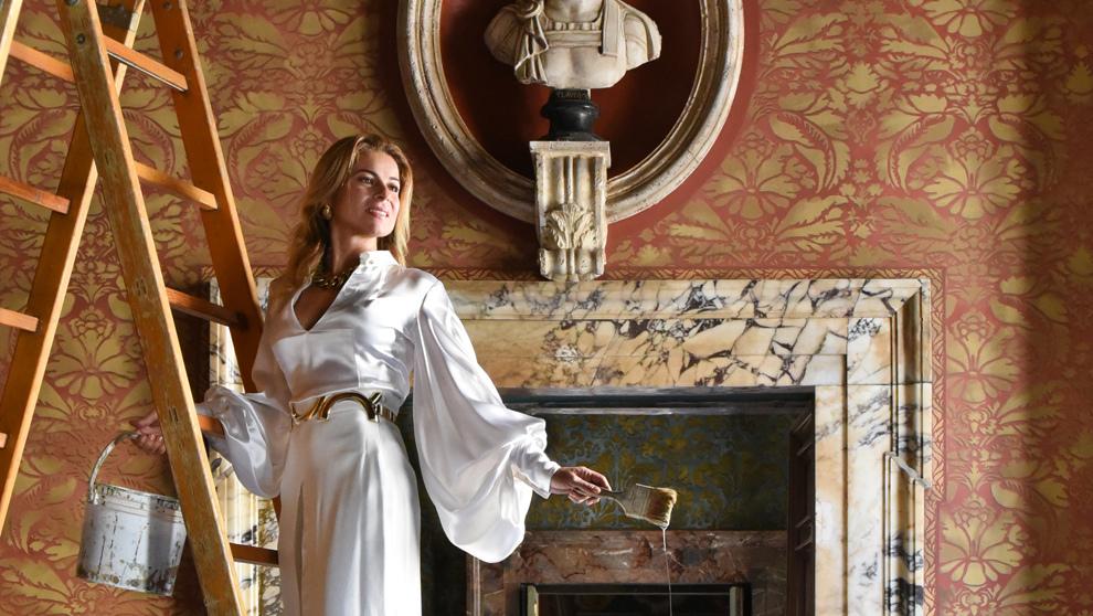 La princesa María Pace Odescalchi.