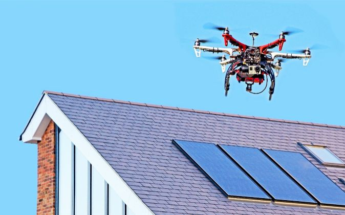 Cuando los drones se convierten en un vecino más.