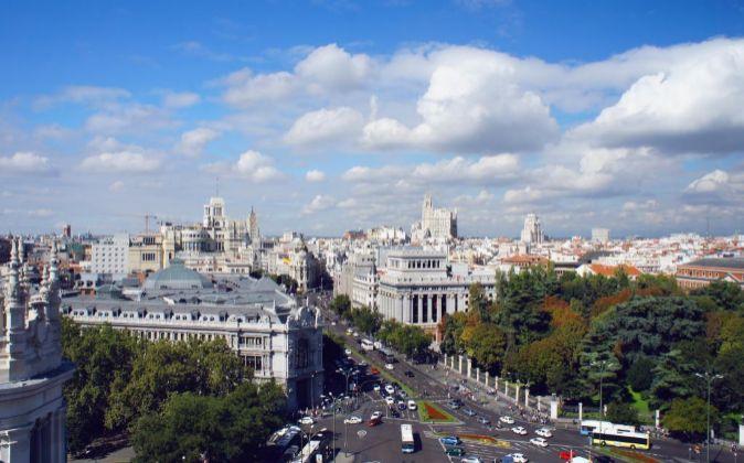 Vistas generales de la ciudad de Madrid.
