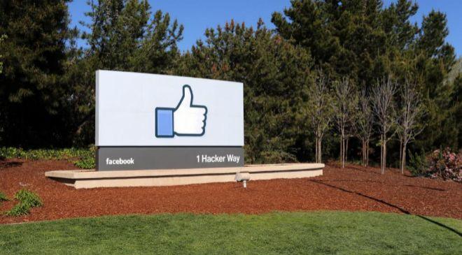 Imagen de la sede de Facebook en Menlo Park, en California.