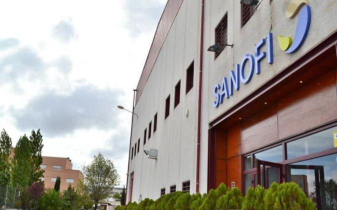 Instalaciones de Sanofi en Leganés.