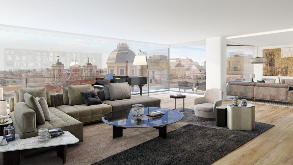 Lagasca 99 el mejor piso de madrid for Salones modernos madrid