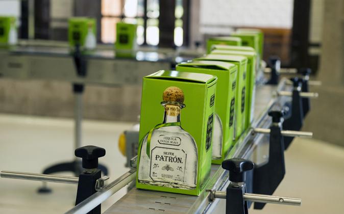 Tequila Patrón.