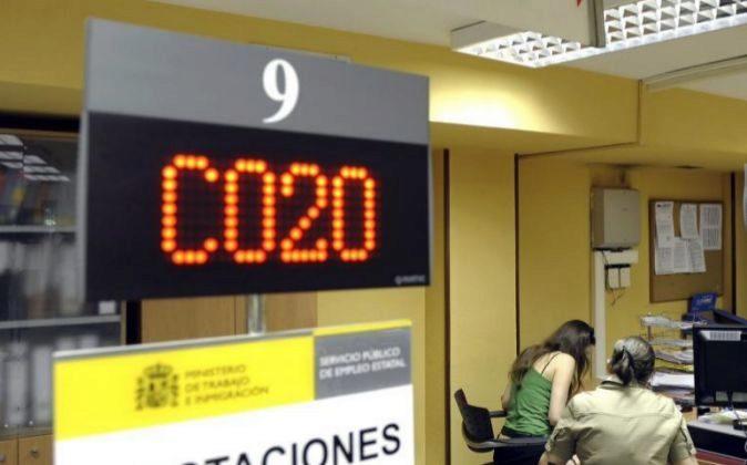 Oficina de la Seguridad Social en Valladolid.