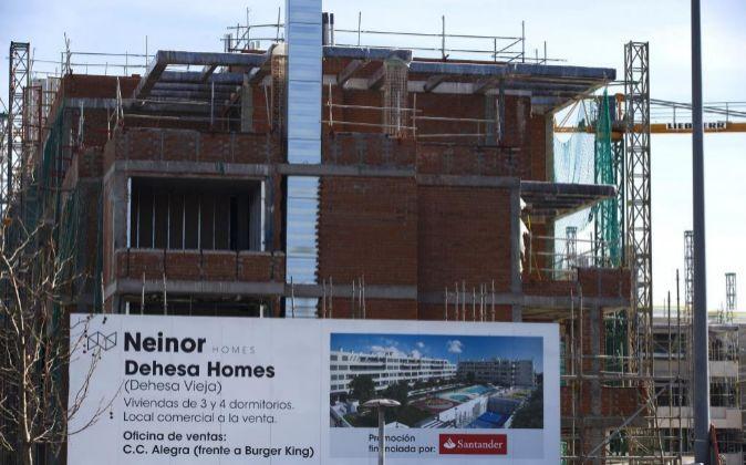Promoción de viviendas de Neinor.