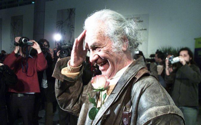Fotografía de archivo del poeta chileno Nicanor Parra.