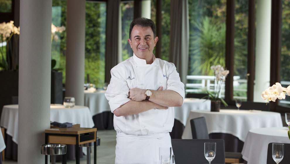 El cocinero Martín Berasategui, este martes en Madrid Fusión 2018,...