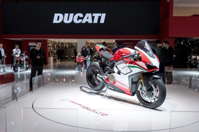 Ducati Panigale V4, reina del pasado Eicma de Milán.