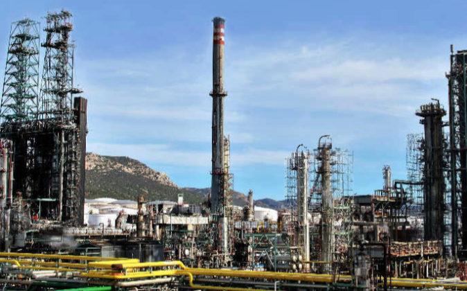 Complejo industrial de Repsol en Puertollano (Ciudad Real).