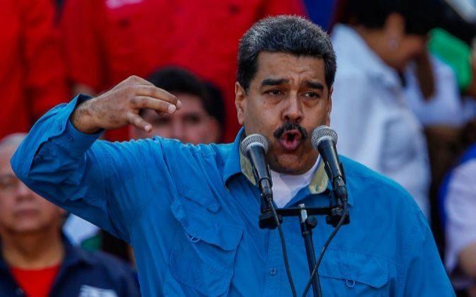 - El presidente venezolano, Nicolás Maduro.