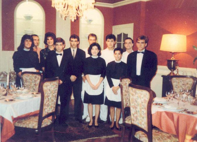 equipo del Restaurante Atrio