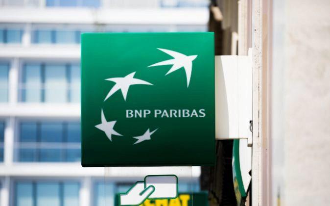 Logo de BNP Paribas.