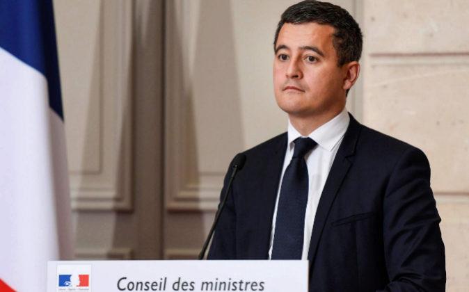 Gérard Darmanin, ministro de Hacienda francés.