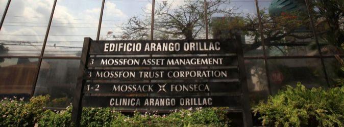 Sede de la firma de abogados Mossack Fonseca, protagonista del...
