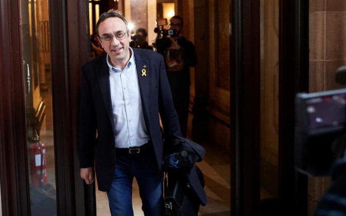 El diputado de Junts per Catalunya, Josep Rull.