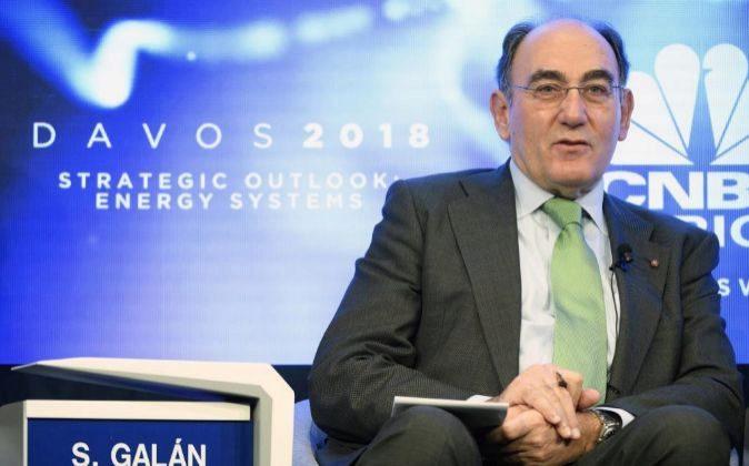 Ignacio Sanchez Galan, presidente de Iberdrola