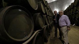 Jesús Barquín (izquierda) y Eduardo Ojeda han exportado al mundo su...