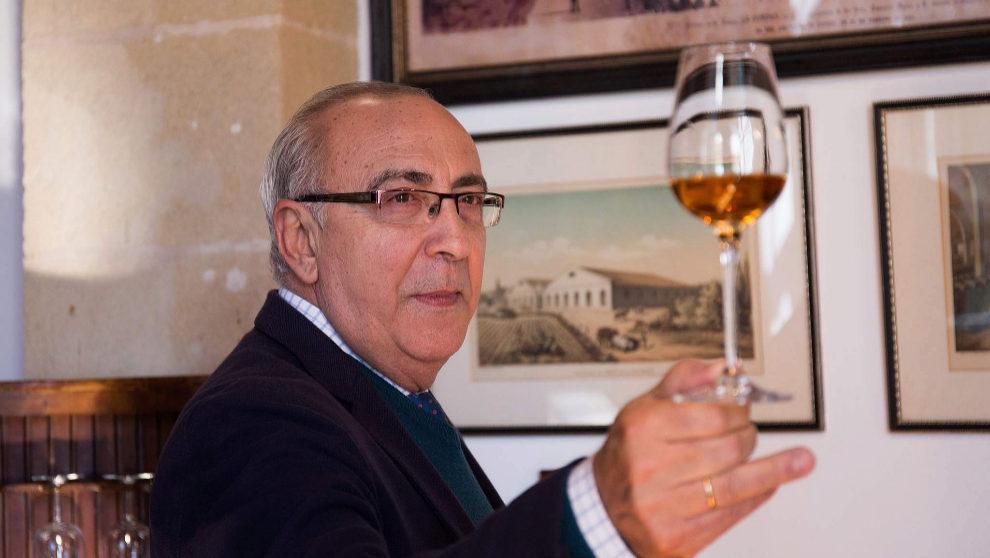 Antonio Flores, enólogo y 'master blender' de González...